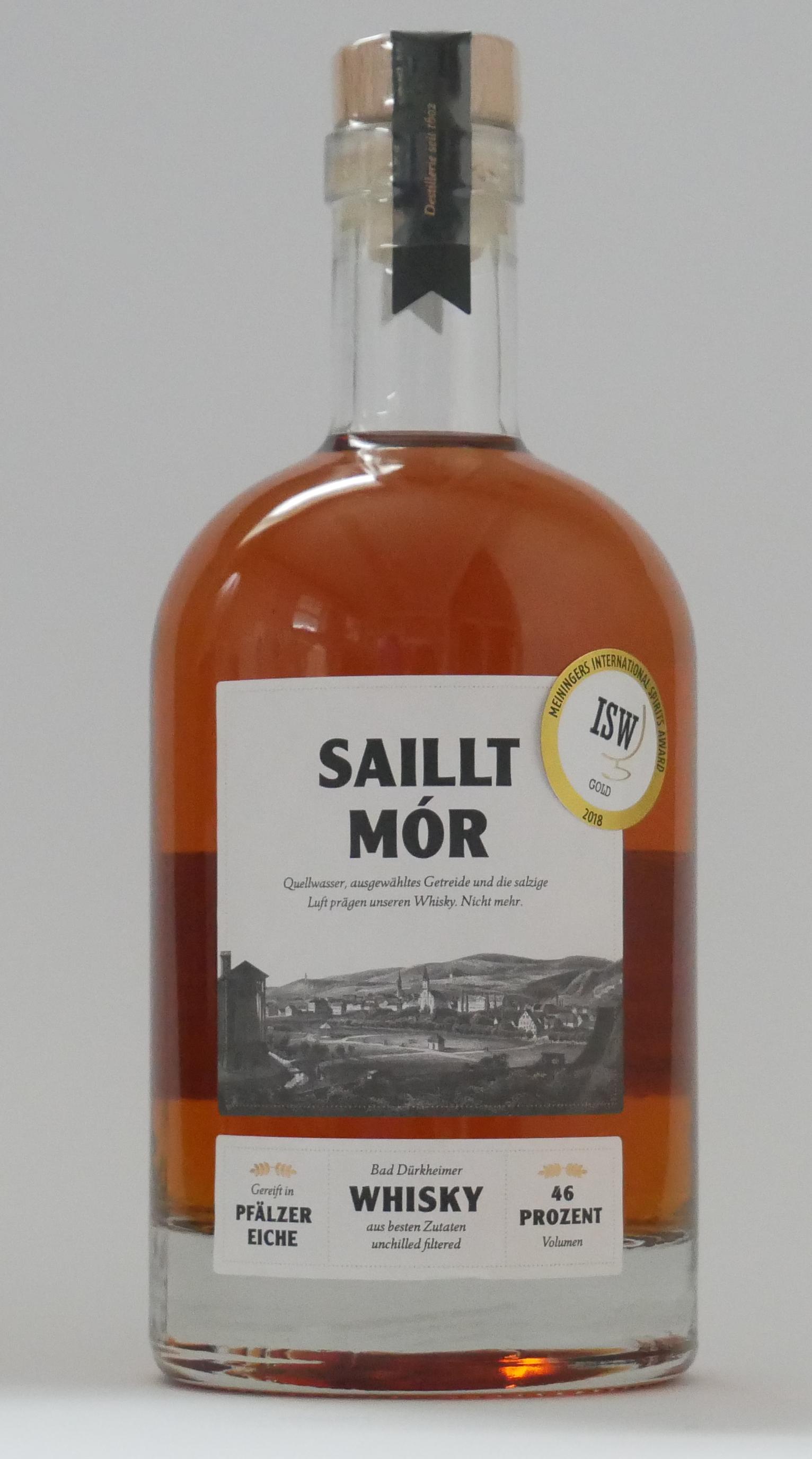 Bild von einee Flasche Saillt Mór 2013